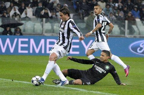 Alessandro Matri scoret mot Celtic.