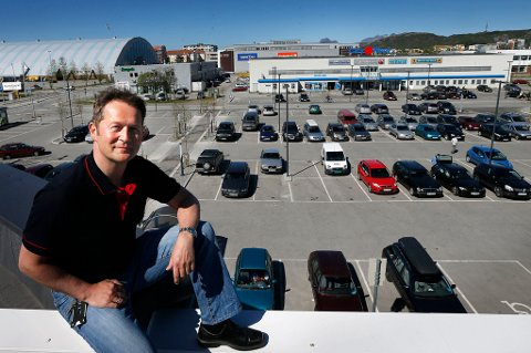 Administrerende direktør Lars Arve Jakobsen er fornøyd med et relativt beskjedent resultat i en tid der Coop Nordland er inne i en stor utbyggingsfase.