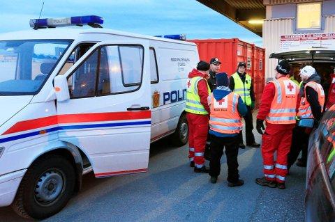 Fredag ble det iverksatt en større leteaksjon i havnebassenget i Bodø.