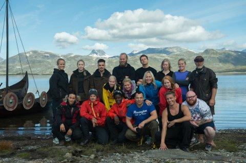 18 deltakere skal kjempe om å stå igjen som den siste viking.