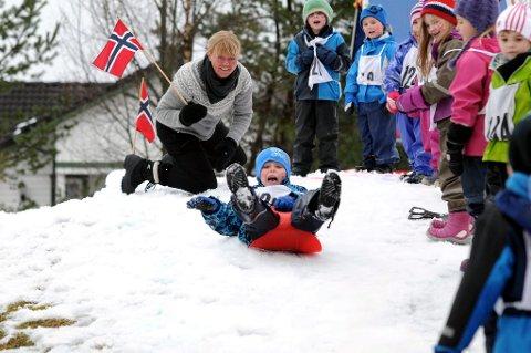 Staben i barnehagen sørget for glimrende forhold for Ørjan Dørdal Kristensen og de andre deltakerne.