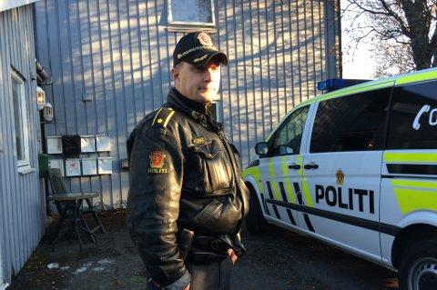 INNSATSLEDER: Espen Wang er politiets innsatsleder på stedet.