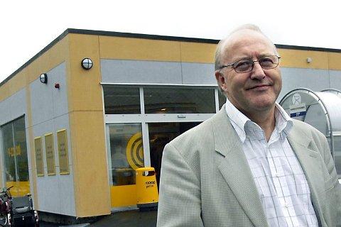 GLEDER SEG: Direktør i Coop Helgeland, Knut Trongmo, sier at utbyggingen i Sandnessjøen er etterlengtet. Han ønsker at De Syv Søstre kjøpesenter skal bli enda mer likt et kjøpesenter.