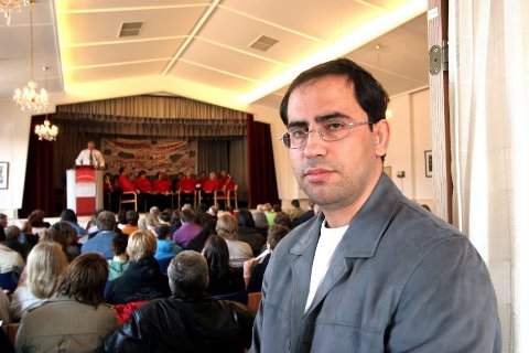 Fengslet i Israel. Nabil Abusharekt (36) mener at nøkkelen til fred ligger i Vestens holdninger til Midtøsten.
