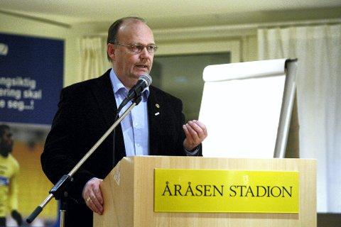 FIKK JA: LSK-leder Per Mathisen var glad da han fikk ja fra den ekstraordinære generalforsamlingen til å selge 25 prosent av Åråsen Eiendom AS.  FOTO: GEIR EGIL SKOG
