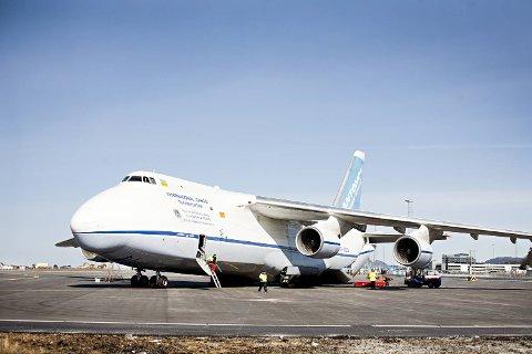 BA besøkte verdens største serieproduserte lastefly på Flesland.