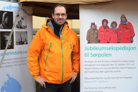 Dårlig vær har forsinket ekspedisjonen til Jan-Gunnar Winther (bildet), Harald Dag Jølle, Vegard Ulvang og Stein P. Aasheim.