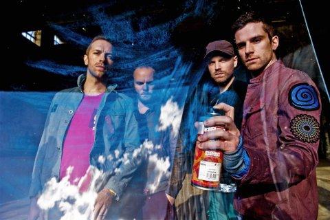 Coldplay er på banen med nytt album, og kommer til Oslo for en minikonsert.