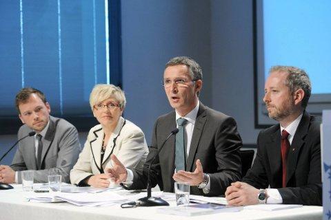 Onsdag presenterte regjeringens sin klimamelding, samtidig som Stortinget hadde spørretime.