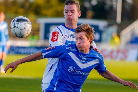 Nicolay Solberg sikret ett poeng for sarpingene med sin scoring etter 84 minutters spill