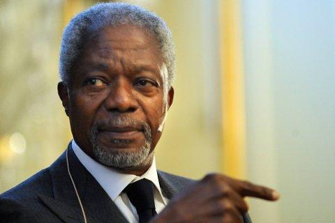 Kofi Annan.