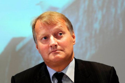 Rune Bjerke er DNB-sjef.