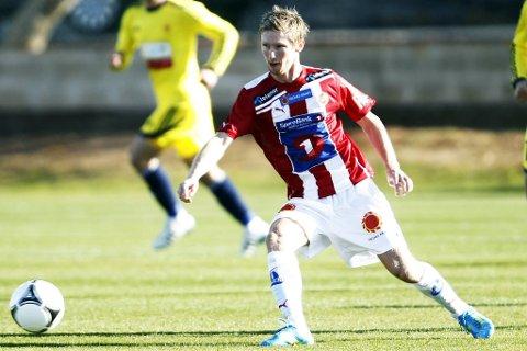 Thomas Drage startet fotballkarrieren med å plukke stein. Nå er han en av Tromsøs mest lovende spillere.