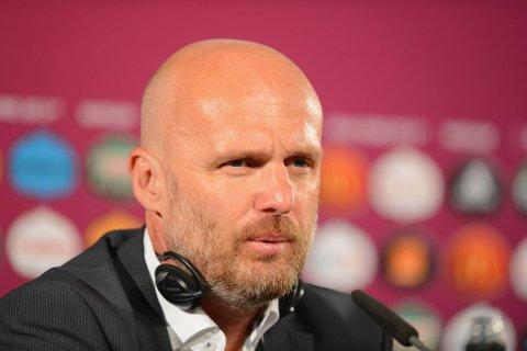 Landslagssjef Michal Bilek var ikke fornøyd etter tapet mot Portugal.