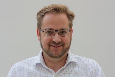 GJEV RÅD: Ole Christian Kaada ber folk ta det roleg i trafikken.