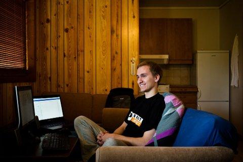 21-åringen Vegar Solheim frontar nye Piratpartiet.