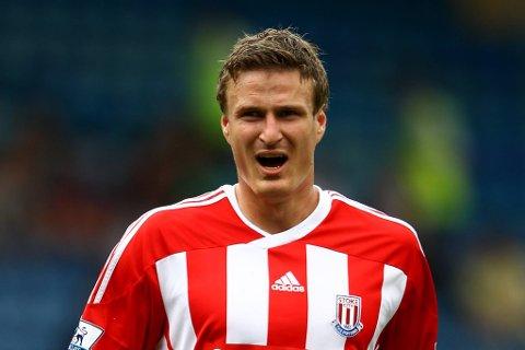 Stoke-spilleren Robert Huth kan ha pådratt seg hjernehinnebetennelse.