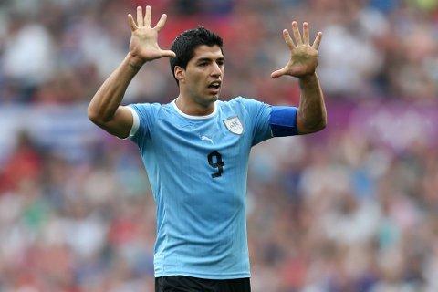 Luis Suarez kommer rett fra OL til dagens kamp.