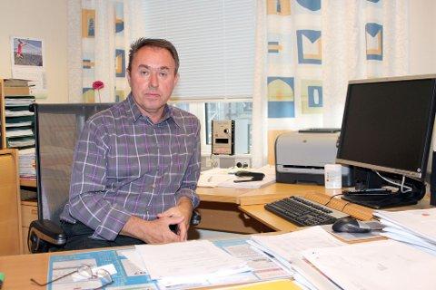 TØFFE TIDER: Driftsutgiftene må kraftig ned, konstaterer ordførar Arild Ingar Lægreid.