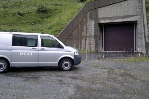 EKSPLOSJON: Ulukka skjedde i kraftstasjonen Aurland 2.