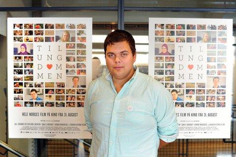 Henrik Wangberg er med i filmen «Til ungdommen»