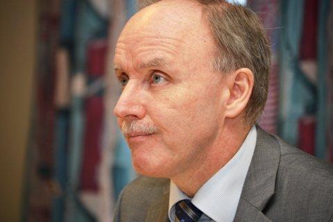 Regionrådsleder Sture Pedersen.
