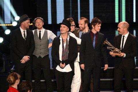 Kaizers Orchestra ble kåret til Årets spellemann 2012 under utdelingen av Spellemannprisene i Stavanger Konserthus lørdag kveld.