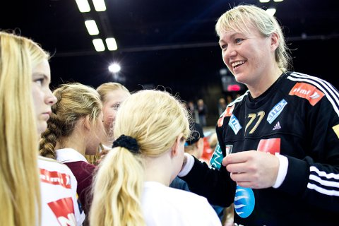 Slutt: Cecilie Lenganger har valt å legge opp umiddelbar virkning. Med det setter 39-åringen punktum for en karriere uten sidestykke i norsk håndball.