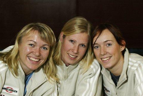 Troika: I VM i Kroatia i 2003 utgjorde Cecilie Leganger, Heidi Tjugum og Katrine Lunde Norges keepertrio. Dette ble Lenganers siste mesterskap for Norge.