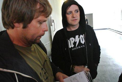 Musikkfestivalen Amphi Festival i Köln i Tyskland. Stephan Groth i samtale med SAs reporter.