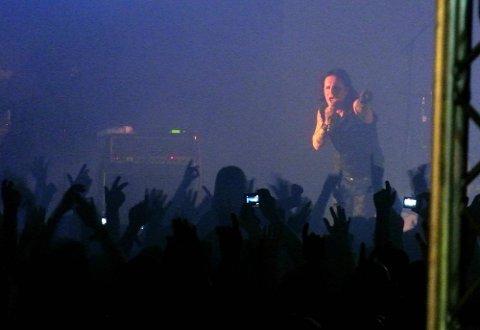 Musikkfestivalen Amphi Festival i K?ln i Tyskland.