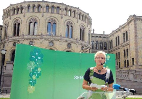 Kommunal- og regionalminister Liv Signe Navarsete etterlyser innspill om hvordan det kan legges til rette for flere gründere i distriktene.