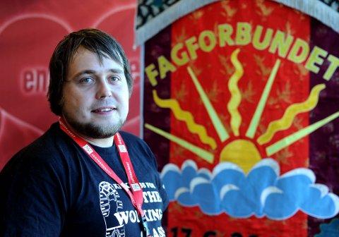 Lærlingene blir den store politiske saken for vår del i de kommende årene, sier fersk leder i Fagforbundet ungdom, Ola Harald Svenning.