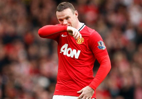 Wayne Rooney feiret bursdagen sin med flere City-spillere søndag kveld.