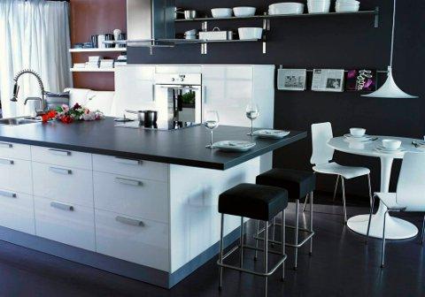 Selv om det selges kjøkken med regnskogtømmer, finnes det mange alternativer (som dette Ikea-kjøkkenet) som ikke truer regnskogen i det hele tatt.