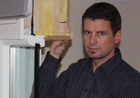 Roar Hugsnes i Enova sier inneklimaet kan bedres betraktelig med nye vinduer.