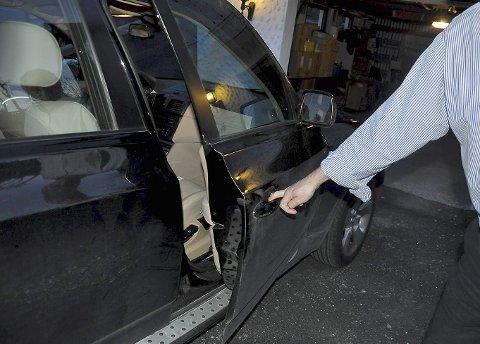 Tirsdag fikk 67-åringen sin BMW tilbake. Den har fått noen småskader, men er i kjørbar stand etter biljakten.