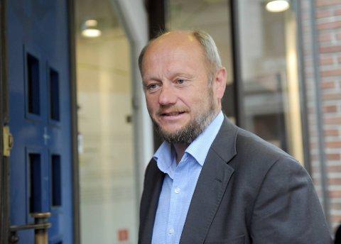 Adm. direktør Stein Lier-Hansen i Norsk Industri.