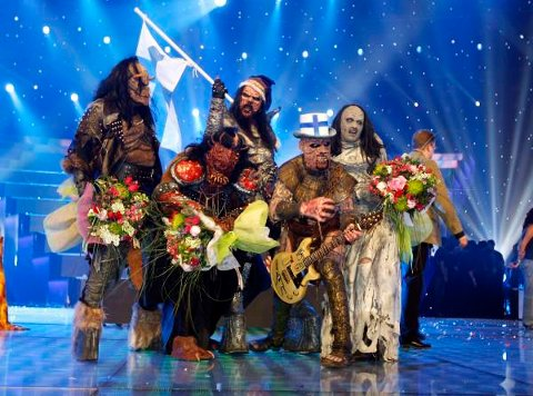 I 2006 vant Finland Melodi Grand Prix for første gang. Lordi messet da «Hard Rock Hallelujah».