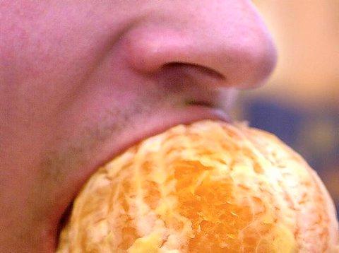 Sør-Trøndelag fylkeskommune dropper israelske produkter, her representert ved appelsin, ved sine innkjøp.