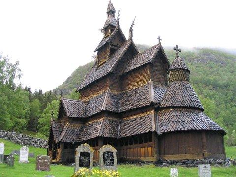 Borgund stavkyrkje er inne på topp ti-lista over verdas vakraste kyrkjer.