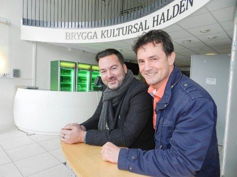 Halden Arbeiderblad - Humor sørger for rekord i kultursalen