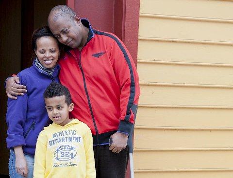Den lille familien Eshete er blitt lovet av politiet at de ikke blir kastet ut av Norge denne helgen. (Arkivfoto)