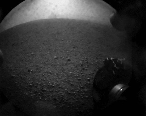 De første bildene fra Mars.