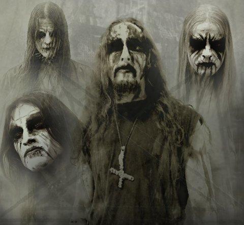 Gorgoroth. Gaahl i midten.