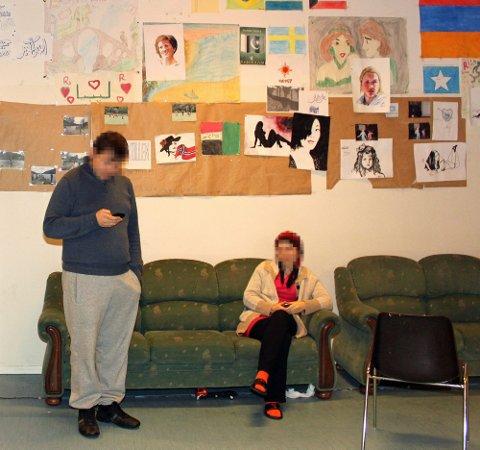 130 plasser: Hanskollen har vært transittmottak for asylsøkere siden 2008.