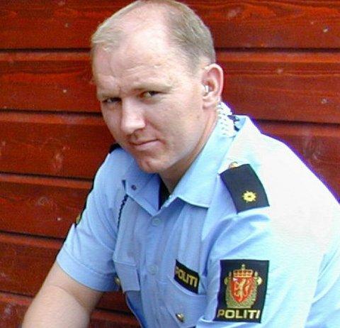 VAR SJOKKERT: Politiførstebetjent Anders Mansaas gjennomførte avhøret med den utpekte kvinnen. Hun var sjokkert, ifølge etterforskeren.