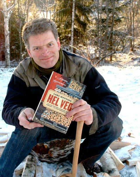 Lars Mytting opplever en eventyrlig suksess med sin bok «Hel ved».