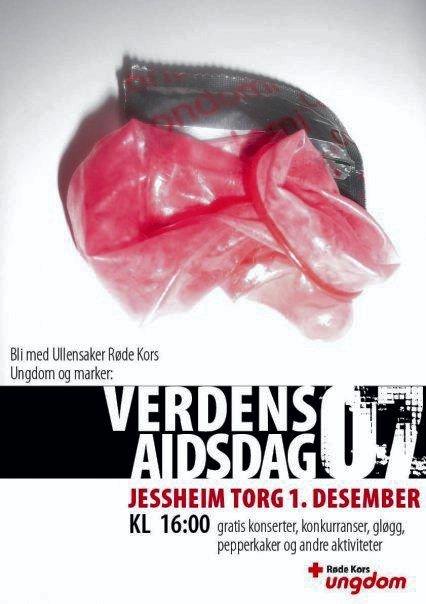 MØT OPP PÅ JESSHEIM TORG: I morgen kan du lære deg å tre på et kondom samtidig som du hører på lokale band.