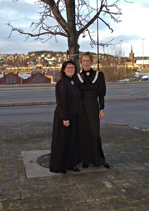 damer i byen Narvik